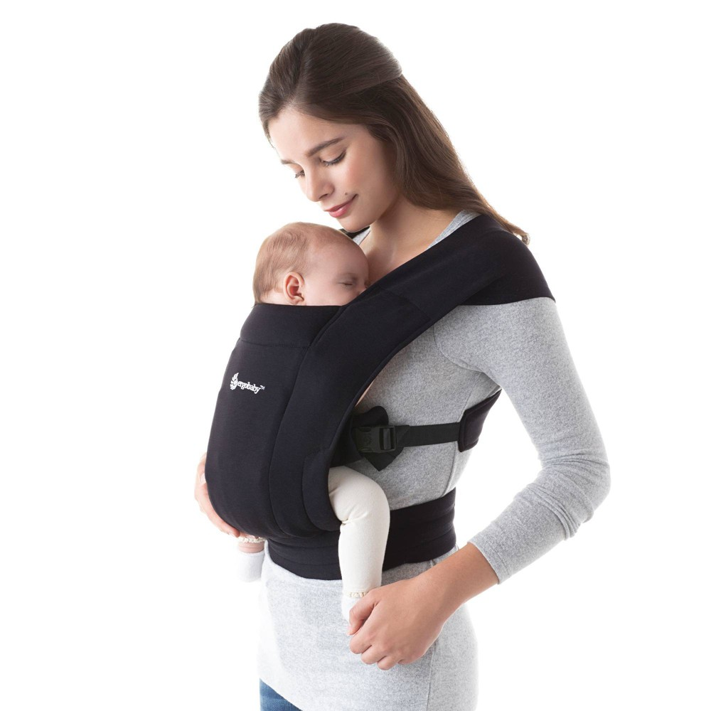 Image of Ergobaby Embrace Baby Carrier - Black