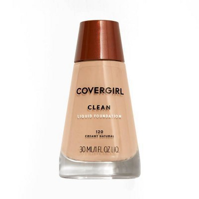 Face Makeup: Covergirl Clean Liquid Foundation
