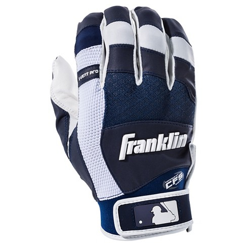 Franklin Sports X-Vent Pro Youth Batting Gloves Navy - image 1 of 2