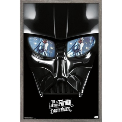 Trends International Star Wars: Saga - I Am Your Father Framed Wall Poster Prints