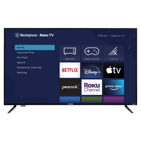 """Westinghouse 43"""" 4K Ultra HD Roku Smart TV with HDR (WR43UT4009) - image 1 of 4"""