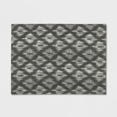 19 x14  Ikat Placemat Gray - Threshold™