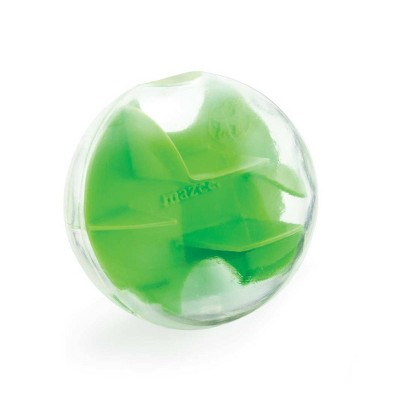 Planet Dog Orbee-Tuff Mazee Interactive Puzzle Ball Dog Toy - Green