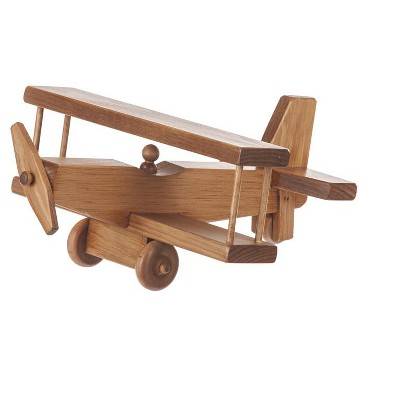 Remley Kids Wooden Toy Airplane