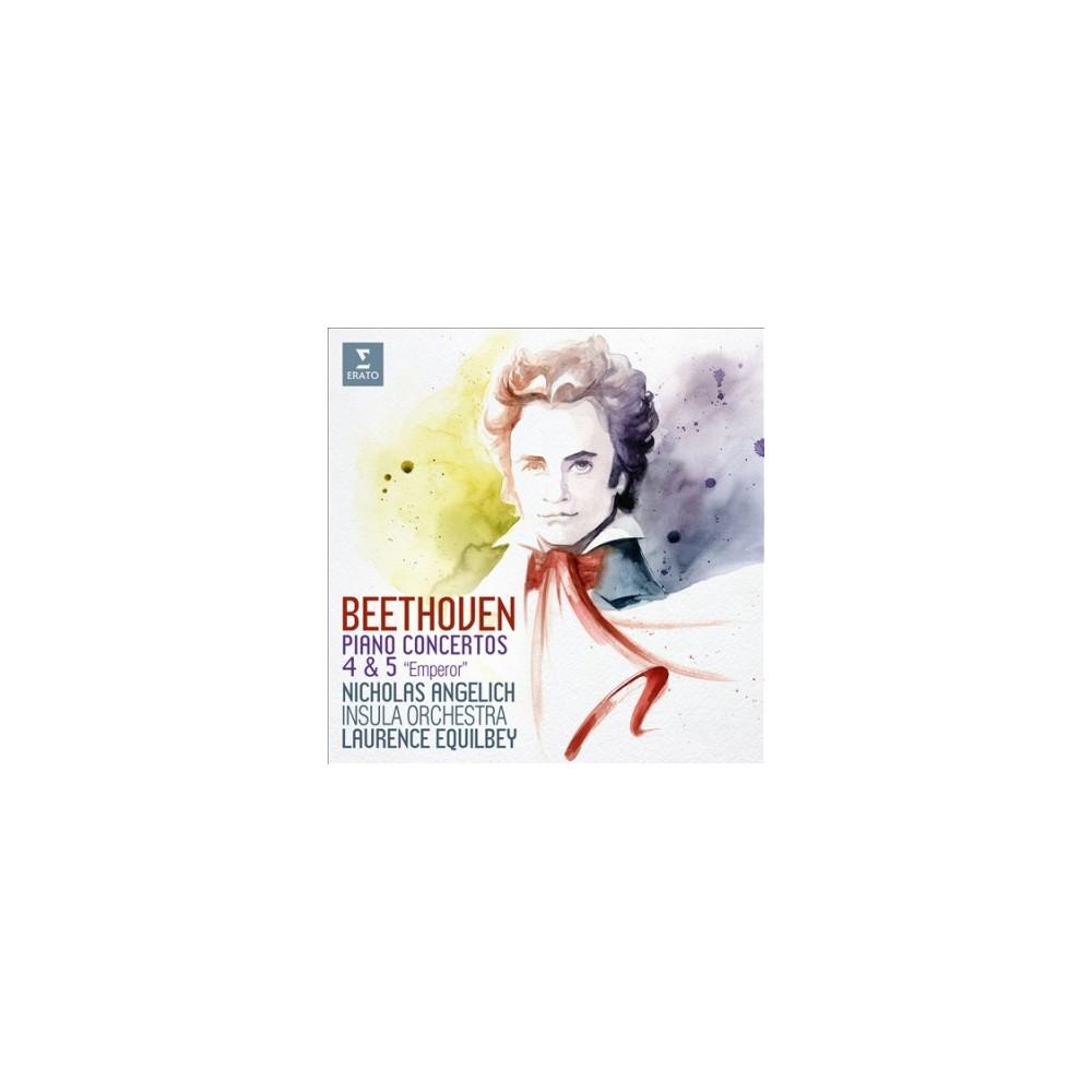 Nicholas Angelich - Beethoven:Piano Concertos Nos 4 & 5 (CD)