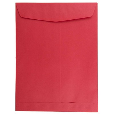 JAM Paper 50pk 9 x 12 Open End Catalog Recycled Envelopes - Red