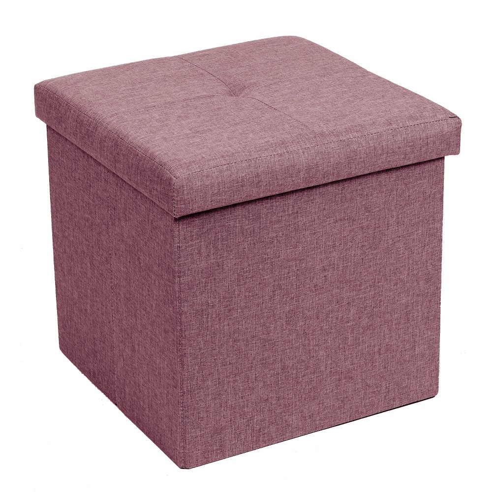 Swell Folding Storage Ottoman Orchid Home Source Industries Alphanode Cool Chair Designs And Ideas Alphanodeonline