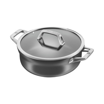 ZWILLING Motion Hard Anodized 4-qt Aluminum Nonstick Chef's Pan
