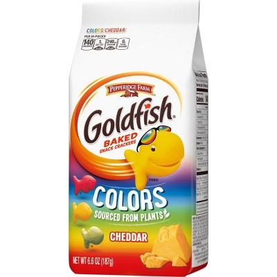 Pepperidge Farm Goldfish Colors Cheddar Crackers - 6.6oz Bag