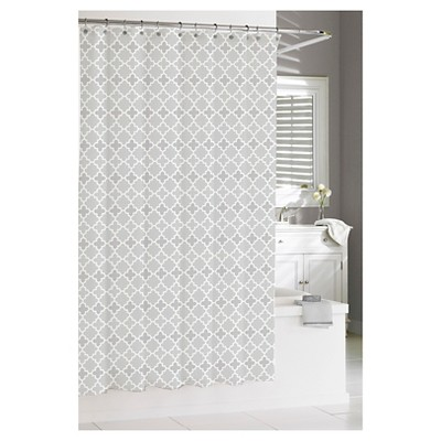 Marrakesh Shower Curtain - Gray - Kassatex