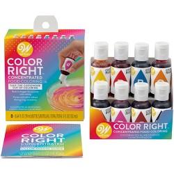 Assorted Food Color Bottles - 1oz/4ct - Market Pantry™ : Target