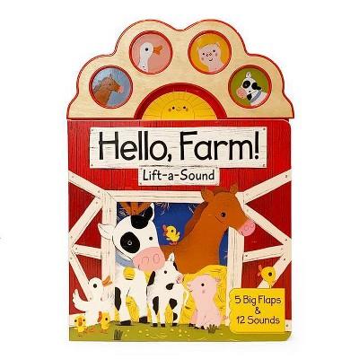 Hello Farm! - by Carmen Crowe (Board Book)