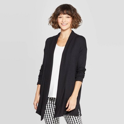 66f6fe16399c9 Women s Casual Fit Long Sleeve Open Knit Cardigan - A New Day™