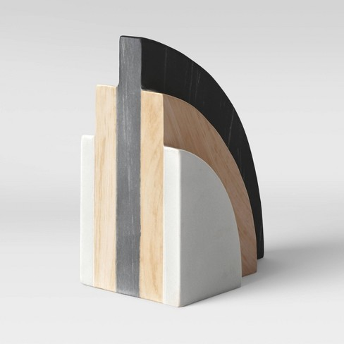 """5"""" Marble and Wood Bookend - Project 62™ - image 1 of 3"""