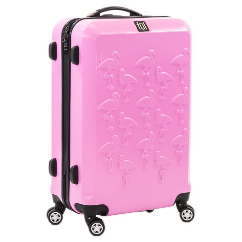 "FUL 21"" ABS Expandable Hardside Spinner Carry On Suitcase - Flamingo - image 1 of 5"