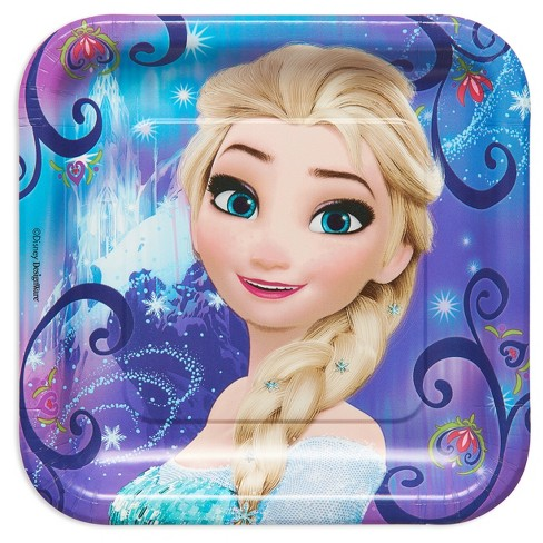 "Frozen 9"" Paper Plates - 8ct - image 1 of 3"