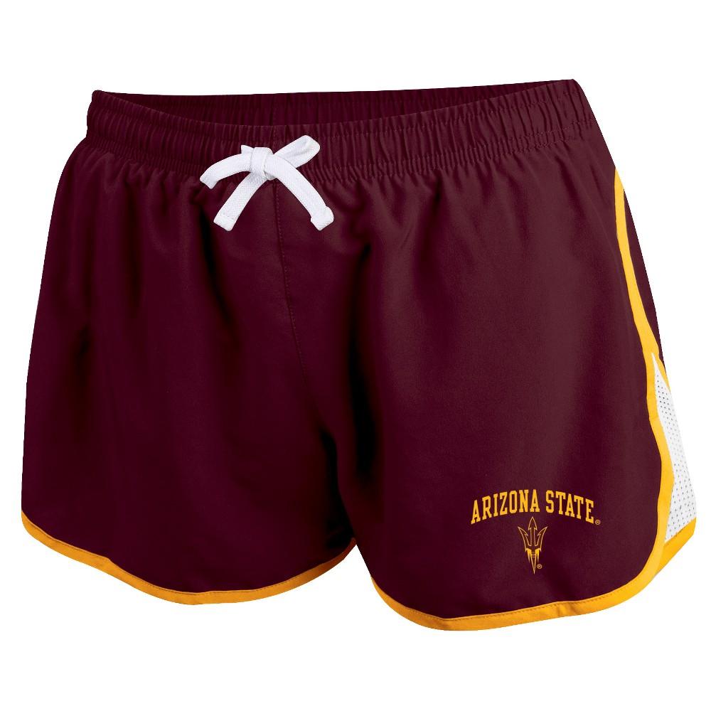 Arizona State Sun Devils Women's Movement Athletic Shorts L, Multicolored