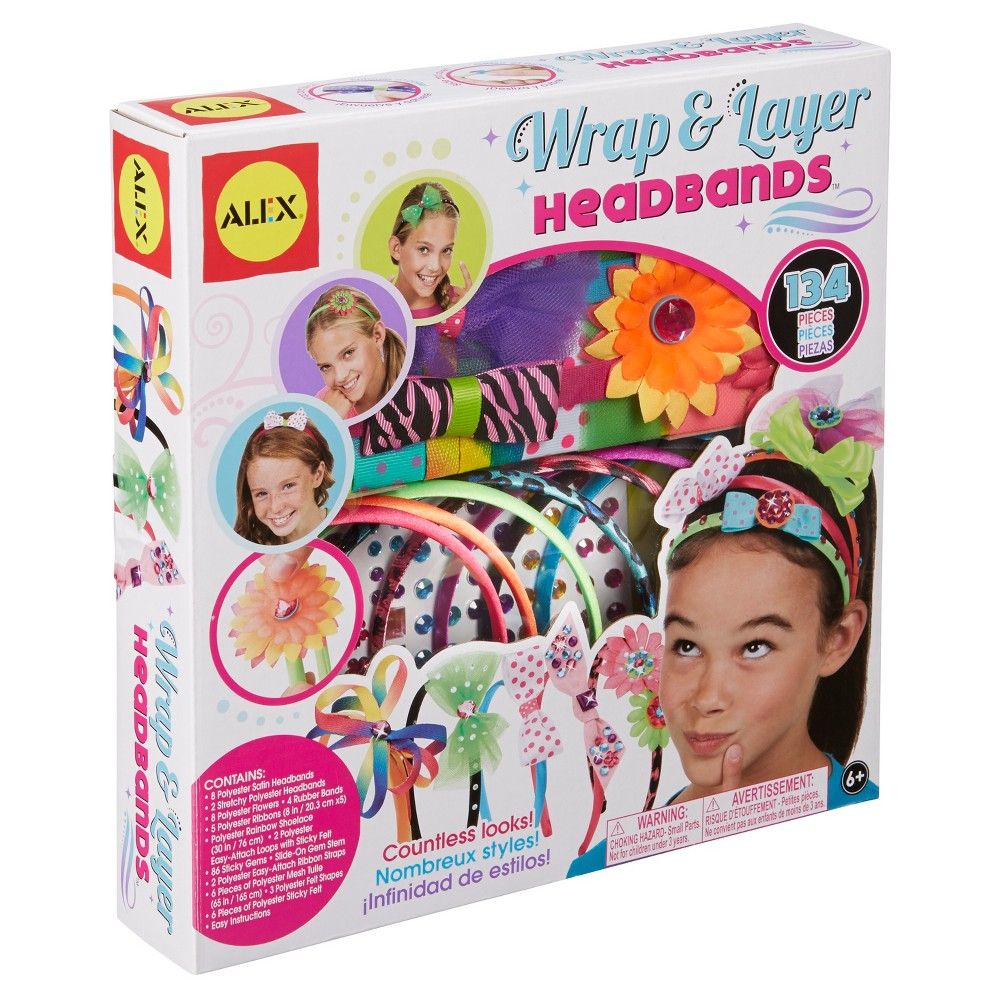 Alex Toys Diy Wear Wrap and Layer Headbands