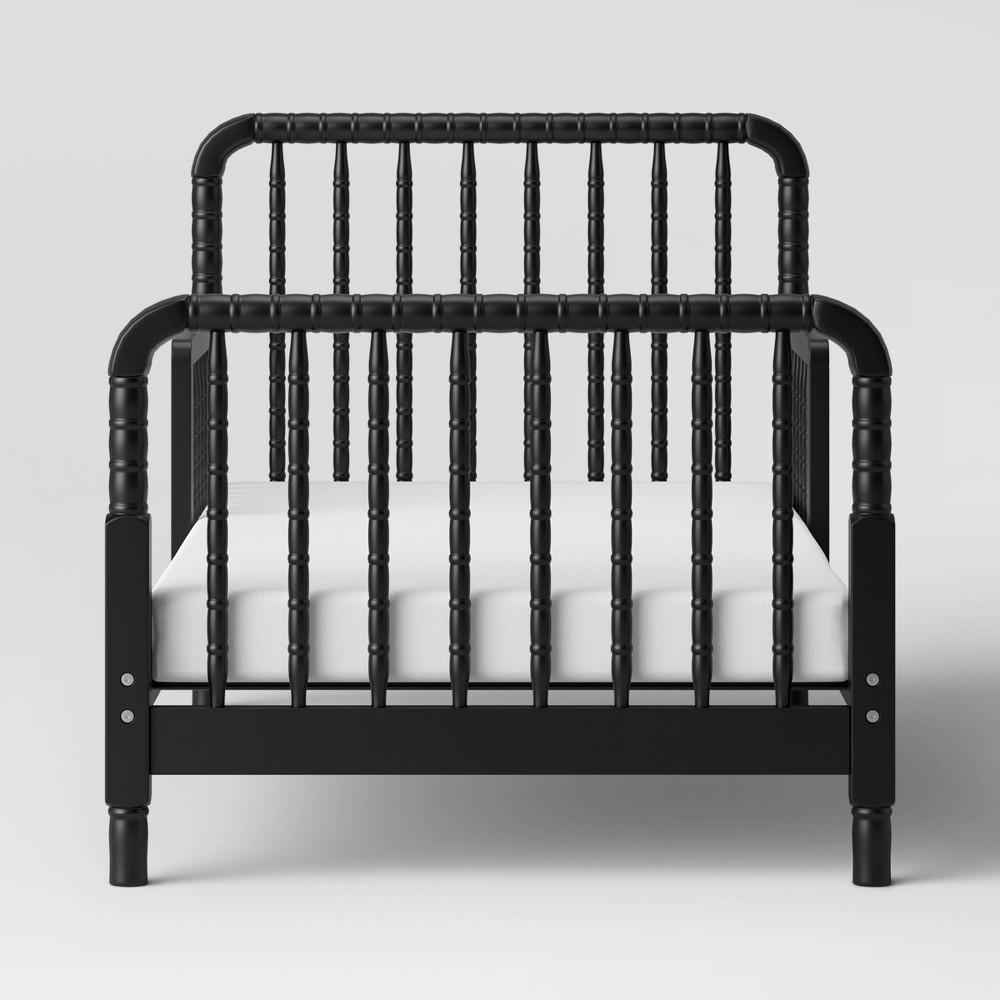 Image of Davinci Jenny Lind Toddler Bed - Black