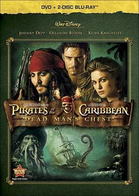 Pirates of Caribbean: Dead Man's Chest (3 Discs)(Blu-ray/DVD)(dvd_video)