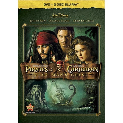 Pirates of Caribbean: Dead Man's Chest (3 Discs) (Blu-ray/DVD) (dvd_video) - image 1 of 1