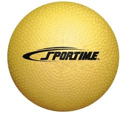 Sportime Playground Ball, 5 Inches, Yellow