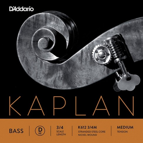 D'Addario Kaplan Series Double Bass D String - image 1 of 2