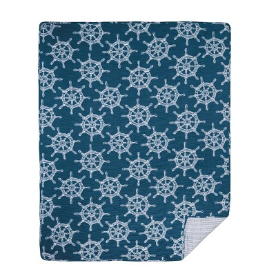 """C&F Home Maritime Quilted Cotton Quilted 48"""" x 60"""" Throw Blanket"""