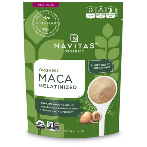 Navitas Organics Plant-Based Superfood Powder - Gelatinized Maca - 4oz - image 1 of 1