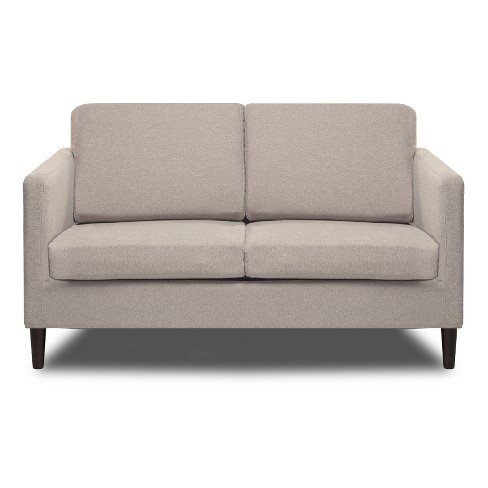 Axis Loveseat Cotton Flax Light Pebble