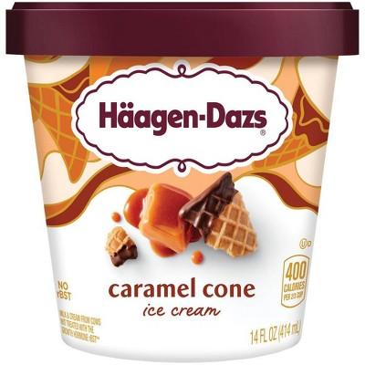 Haagen-Dazs Caramel Cone Ice Cream - 14oz