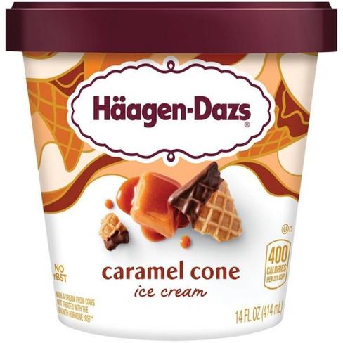 Haagen-Dazs Caramel Cone Ice Cream - 14oz - image 1 of 4