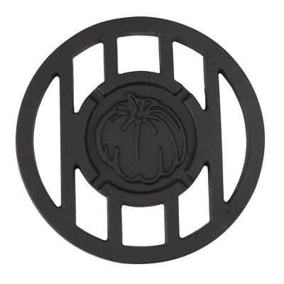"Northlight 5.5"" Round Pumpkin Cast Iron Branding Grill Accessory"
