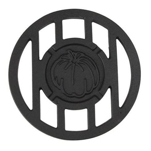 "Northlight 5.5"" Round Pumpkin Cast Iron Branding Grill Accessory - image 1 of 1"