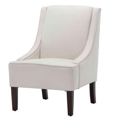 eLuxury Modern Swoop Accent Chair