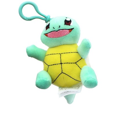 Tomy Pokemon 3 Inch Plush Clip On - Squirtle