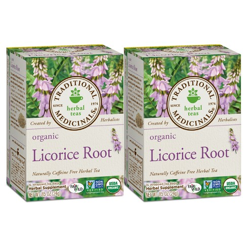 Traditional Medicinals Licorice Root Organic Tea - 32ct - image 1 of 1
