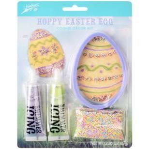 Brand Castle Happy Easter Egg Giant Cookie Décor Kit - 2.36oz
