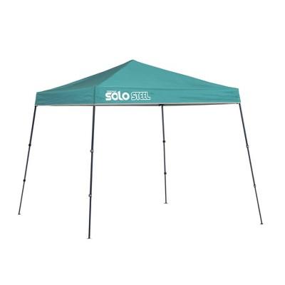 Quik Shade Solo Steel 9x9 Slant Leg Canopy - Turquoise