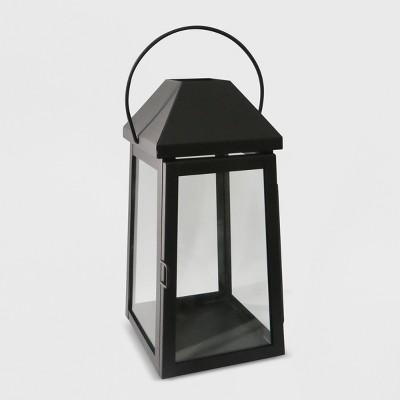 13  Outdoor Lantern Black Hood - Threshold™