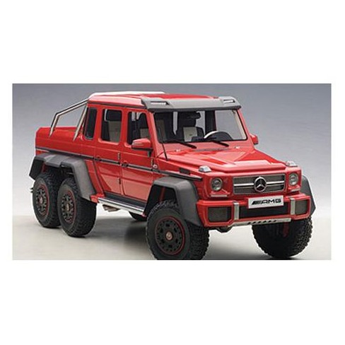 G63 Amg 6X6 >> Mercedes G63 Amg 6x6 Red 1 18 Model Car By Autoart