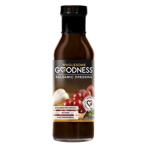 Wholesome Goodness® Balsamic Dressing - 12oz - image 1 of 1