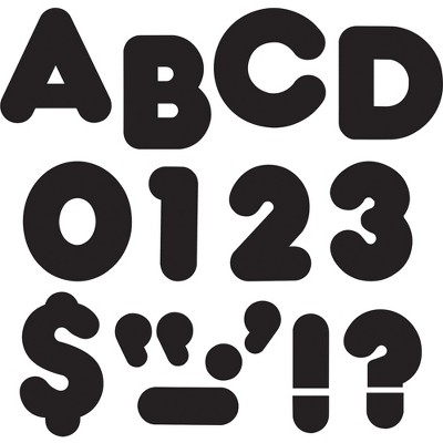 """Trend Casual Style 2"""" Ready Letters Black T433"""
