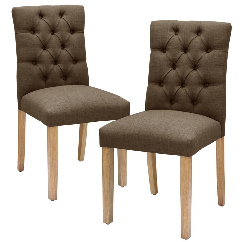Set Of 2 Brookline Tufted Dining Chair Threshold