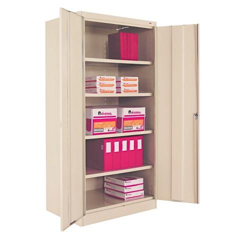 "Tennsco 72"" High Standard Cabinet, 36w x 24d x 72h, Putty - image 1 of 4"