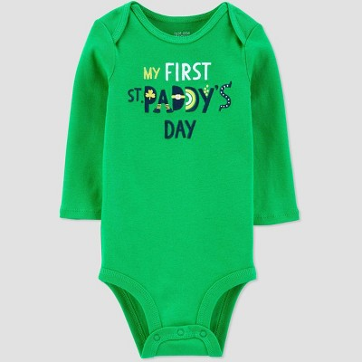 Baby My First Bodysuit - Just One You® made by carter's Green Newborn