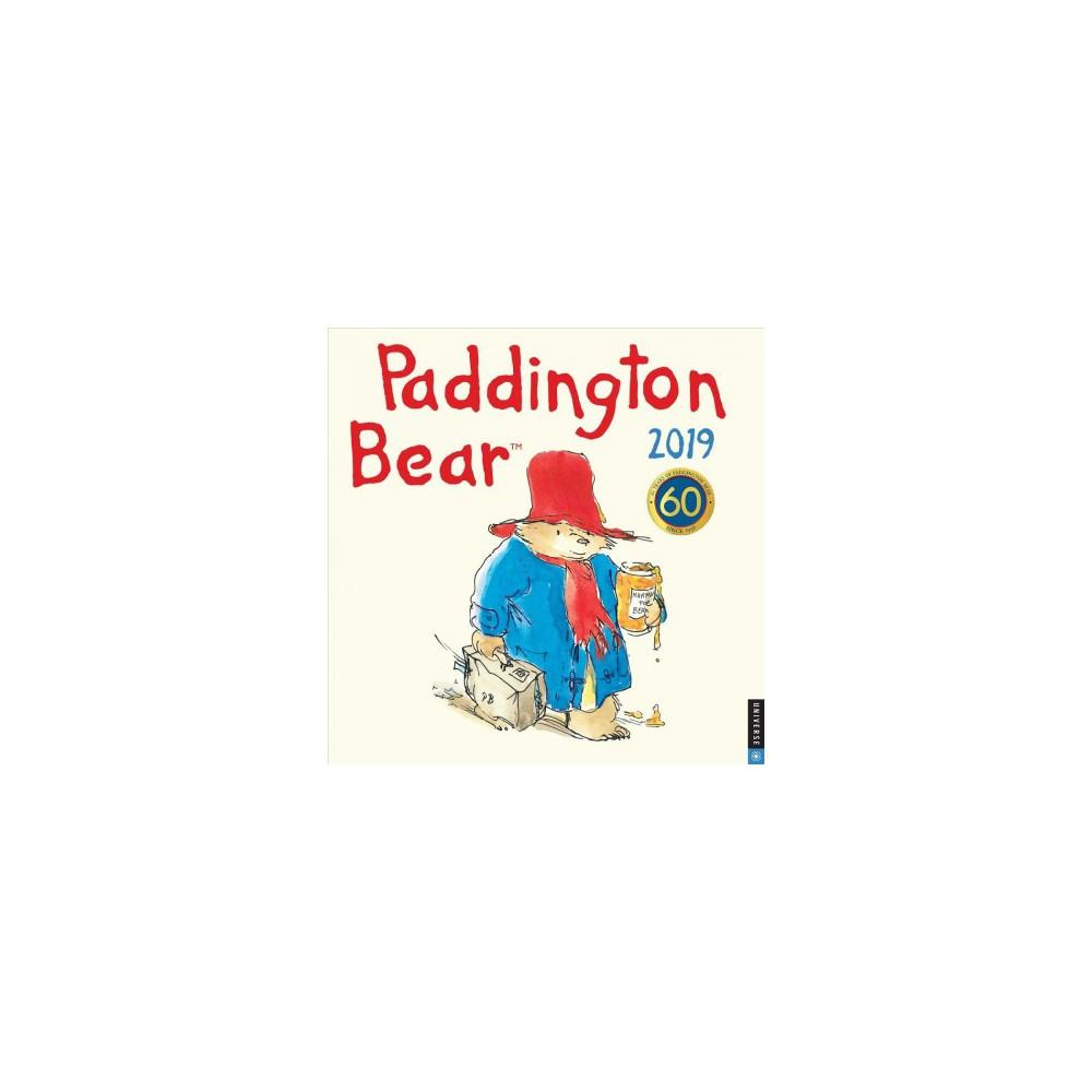 Paddington Bear 2019 Calendar - by Michael Bond (Paperback)