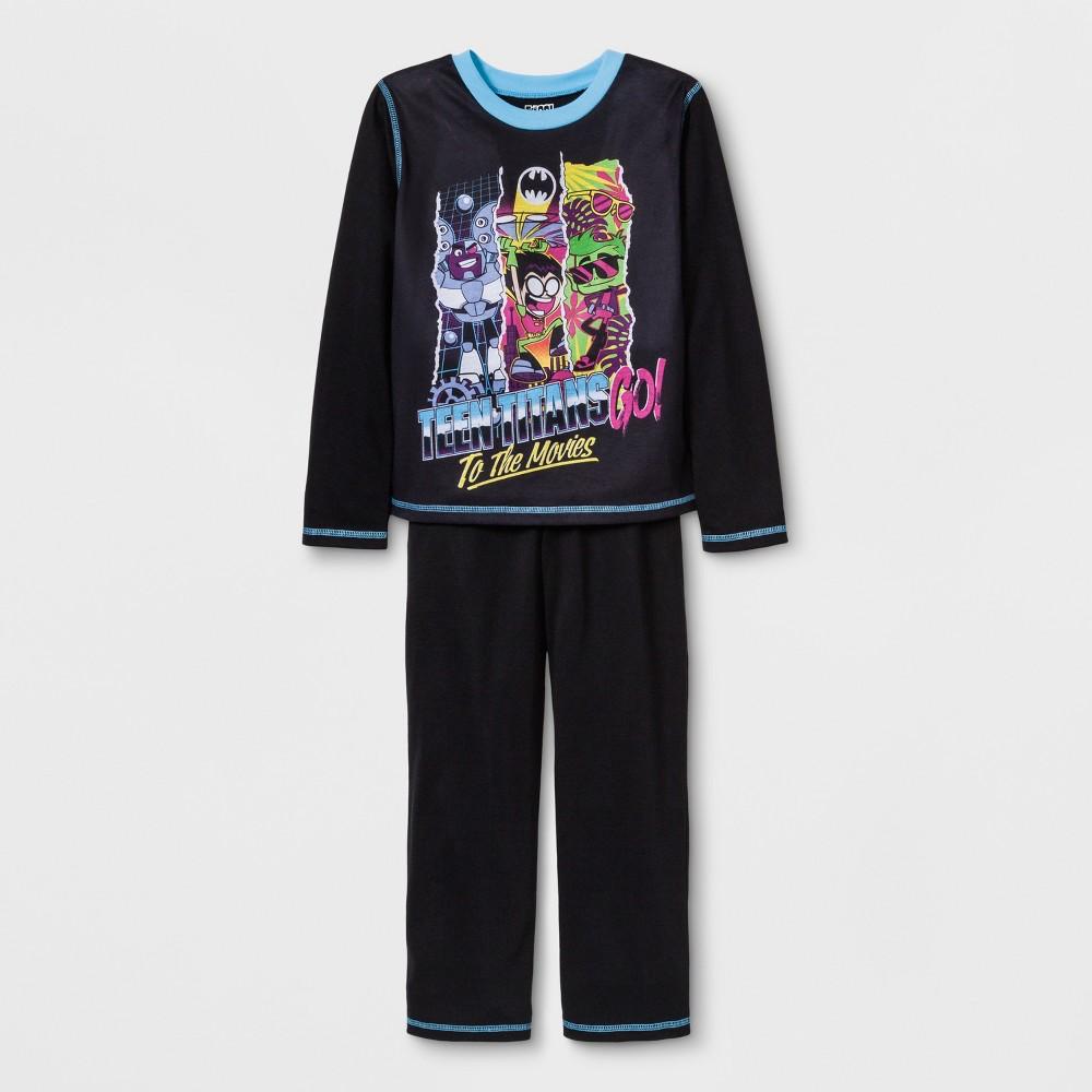 Boys' Teen Titans Go! 2pc Pajama Set - Black L