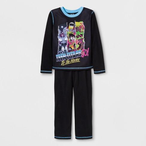 Boys  Teen Titans Go! 2pc Pajama Set - Black   Target 1232c0d71