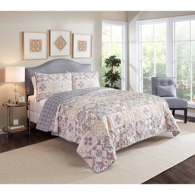 Torrey 3 Piece Quilt Set  - Marble Hill